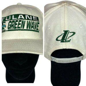 Vintage Logo Athletic Tulane University Green Wave